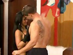 Latina whore MILF loves anal
