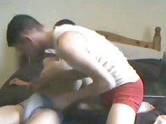 suce entre potes one arabian mates having blowjob