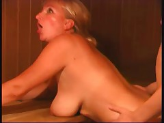 Fucked in Sauna - Amateur sex video