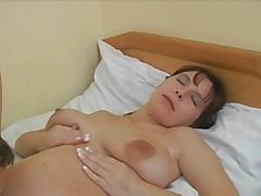 Russian Pregnant Milf
