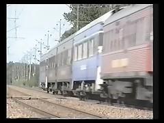 Swedish Train fuck part 1