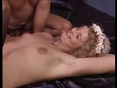 Wedding Night Gangbang - Bukkake The Bride