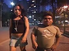 Brazilian BubbleButt MILF Midget 3Way