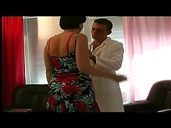 Milf with Nice Nipples Treated by a Young Doctor