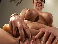 Granny in Serving-man Toys and Fingers