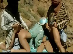 Beduinen Fick in der Wueste