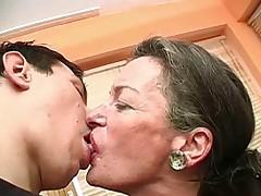 Kissing Grandma