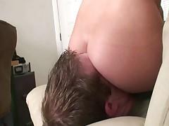 Hot facesitting fuck up puff up 1
