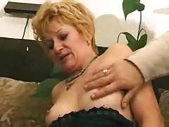 Granny Satisfies a Boy
