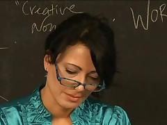 Girls in Love - Payton and Zoe, Mature Lesbian Teachers
